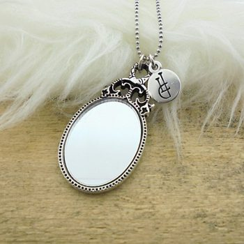ketting ball chain mirror