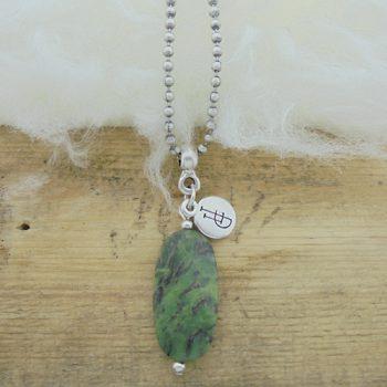 Ketting edelsteen jade