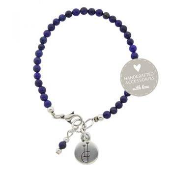 armband edelsteen Lapis Lazuli enkel
