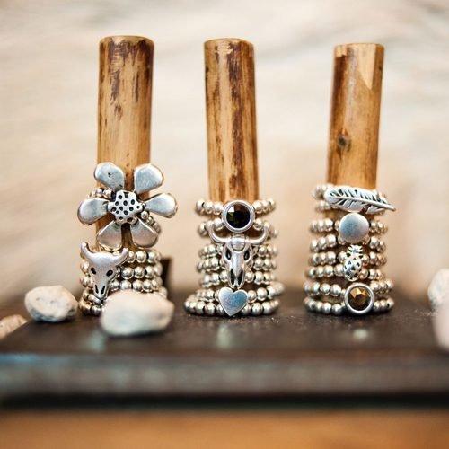 Handgemaakte ringen zilver