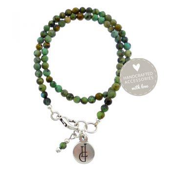 Armband Afrikaans Turquoise