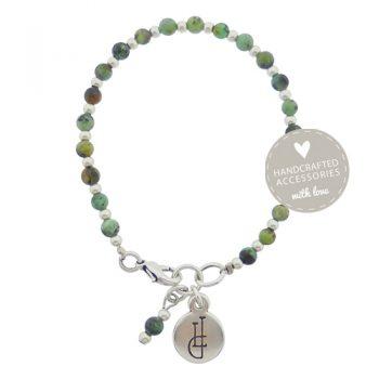 Armband edelsteen groen afrikaans turquoise