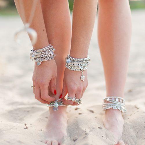 Handgemaakte sieraden zilver